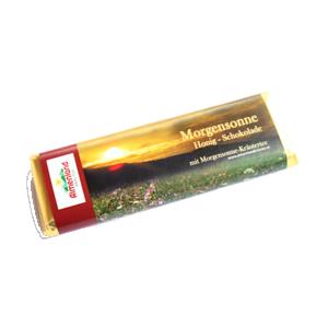 Morgensonne-Kräuter-Honig Schokolade 80 g