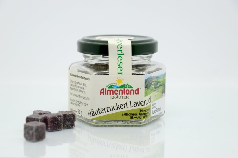 Almenland Zuckerl Lavendel 60 g